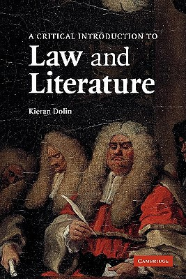 Image for A Critical Introduction to Law and Literature