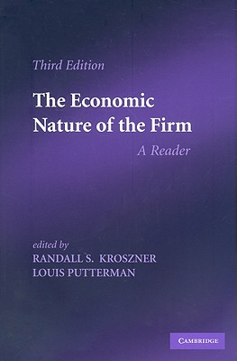 Image for The Economic Nature of the Firm: A Reader