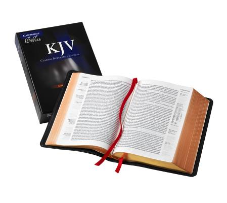 Image for KJV Clarion Reference Black Goatskin KJ486:XE