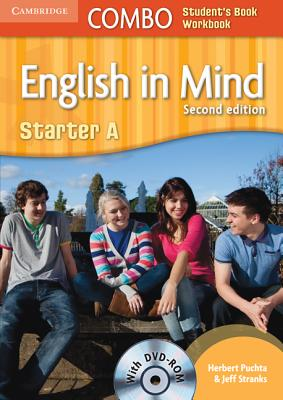 English in Mind Starter A Combo A with DVD-ROM, Puchta, Herbert; Stranks, Jeff