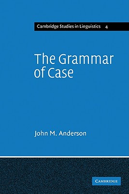 Image for Grammar Of Case, The