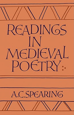 Image for READINGS IN MEDIEVAL POETRY