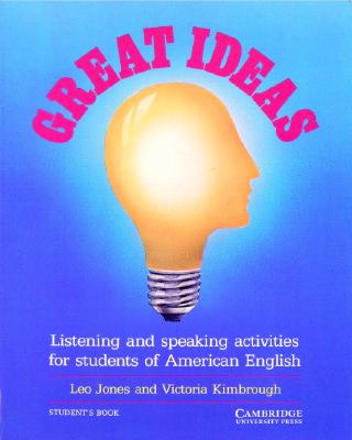 Image for Great Ideas Student's book  Listening and Speaking Activities for Students of American English
