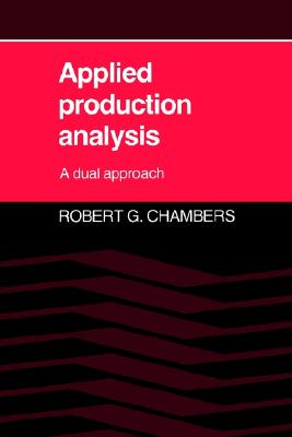 Image for Applied Production Analysis: A Dual Approach