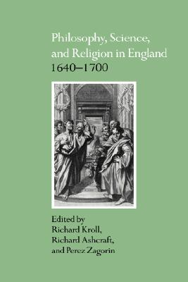 Image for Philosophy, Science, and Religion in England 1640-1700