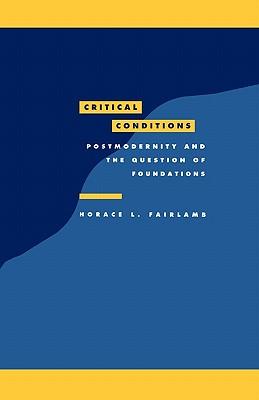 CRITICAL CONDITIONS, HORACE L. FAIRLAMB