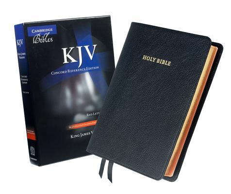 Image for KJV Concord Reference Bible (Black Goatskin)