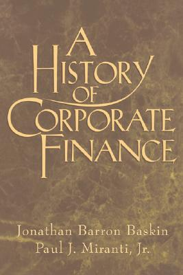 Image for A History of Corporate Finance