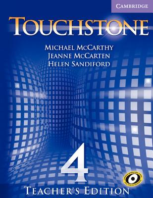 Image for Touchstone Teacher's Edition 4 with Audio CD