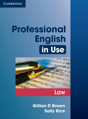Image for Professional English in Use Law