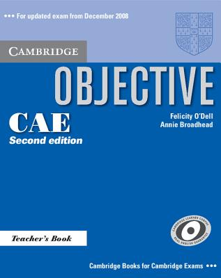 Image for Objective CAE Teacher's Book 2nd Edition