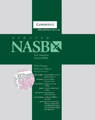 NASB Wide-Margin Reference Black Goatskin NS746:XRME