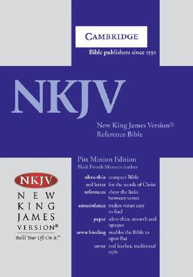 Image for NKJV Pitt Minion Reference Black Goatskin NK446XR