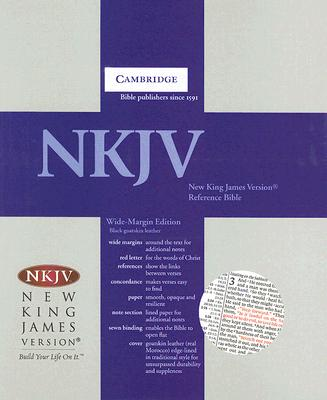 Image for NKJV Wide Margin Reference Black Goatskin NK746XRM