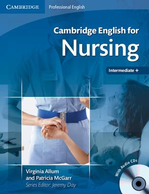 Image for Cambridge English for Nursing Intermediate Plus Student's Book with Audio CDs (2)