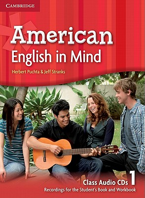 Image for American English in Mind Level 1 Class Audio CDs (3)