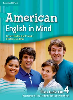 Image for American English in Mind Level 4 Class Audio CDs (4)