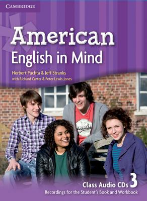 Image for American English in Mind Level 3 Class Audio CDs (3)
