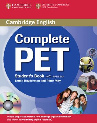 Image for Complete PET Student's Book with Answers with CD-ROM
