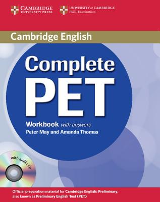 Image for Complete PET Workbook with answers with Audio CD