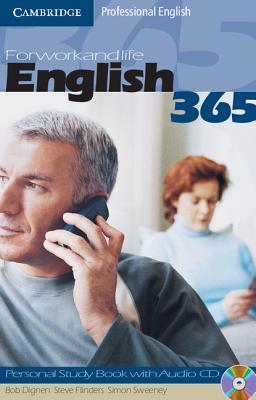 Image for English365 Level 1 Personal Study Book with Audio CD  For Work and Life