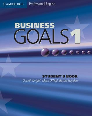 Image for Business Goals 1 Student's Book