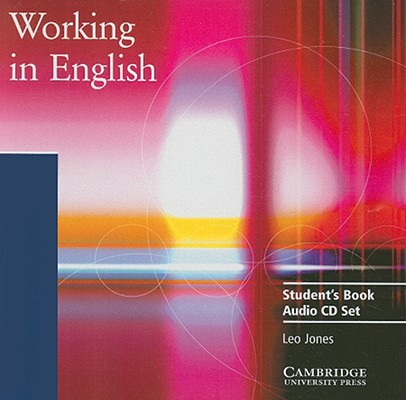 Image for Working in English: Student's Book Audio CD