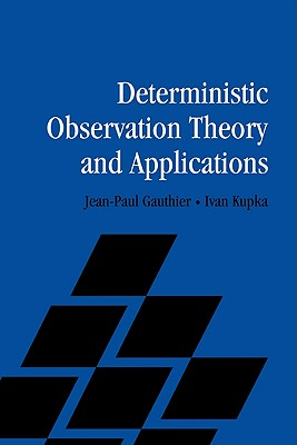 Image for Deterministic Observation Theory and Applications