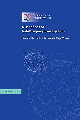 Image for A Handbook on Anti-Dumping Investigations