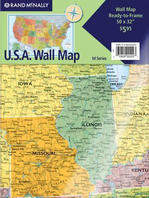 Image for Rand McNally World Folded Wall Map (M Series Map of the World) Map