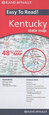 Rand McNally Easy To Read: Kentucky State Map, Rand McNally