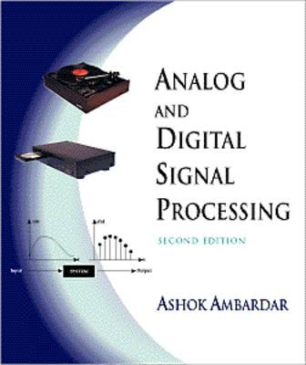 Image for Analog and Digital Signal Processing