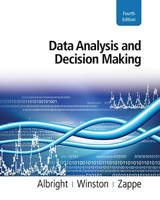 Image for Data Analysis & Decision Making With Microsoft Exc