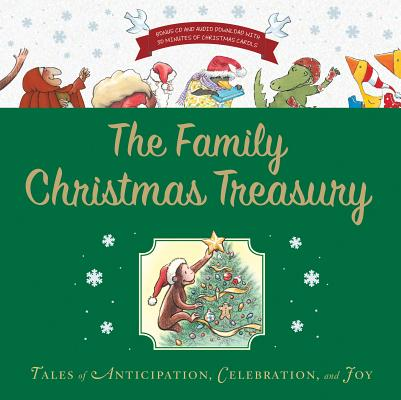 """The Family Christmas Treasury with CD and downloadable audio, """"Rey and others, Houghton Miffl"""""""