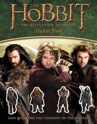 The Hobbit: The Desolation of Smaug Sticker Book, Houghton Mifflin Harcourt