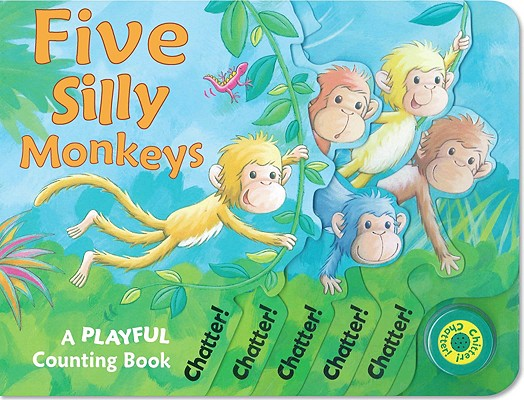 Image for Five Silly Monkeys