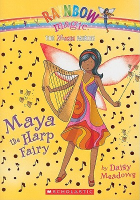 Image for Music Fairies #5: Maya the Harp Fairy: A Rainbow Magic Book