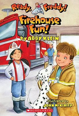 Firehouse Fun! (Ready, Freddy! #17), Abby Klein