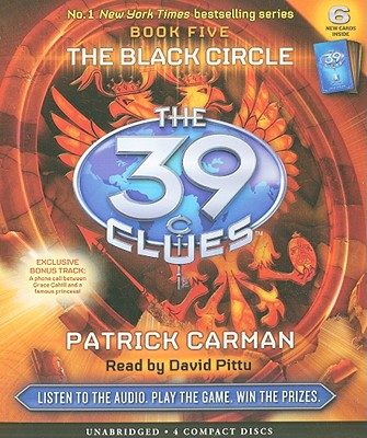 Image for The Black Circle (The 39 Clues , Book 5)  - Audio