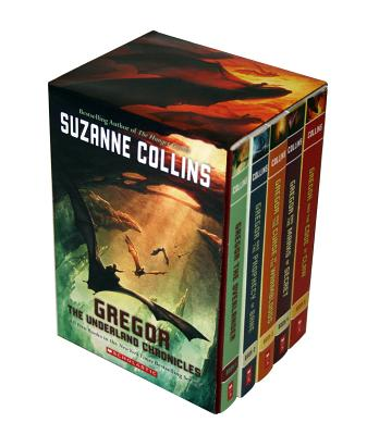 Image for Suzanne Collins The Underland Chronicles 5 Books Set (1-5) Gregor The Overlander