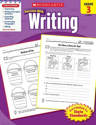 Image for Scholastic Success with Writing, Grade 3