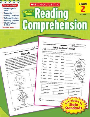 Image for Scholastic Success with Reading Comprehension, Grade 2