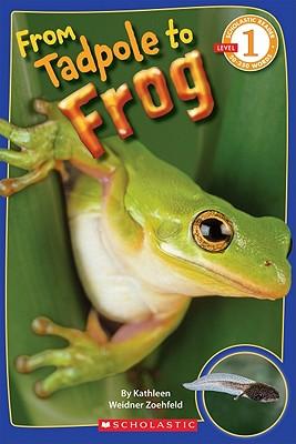 From Tadpole To Frog (Scholastic Reader Level 1), Kathleen Weidner Zoehfeld