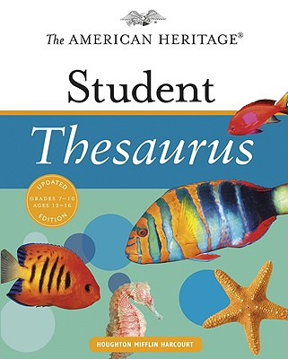 Image for The American Heritage Student Thesaurus