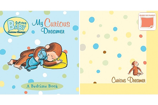 """Curious Baby My Curious Dreamer Gift Set (Curious George Book & Blankie) (Curious Baby Curious George), """"Rey, H. A."""""""