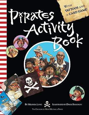 "Pirates Activity Book, ""Long, Melinda"""