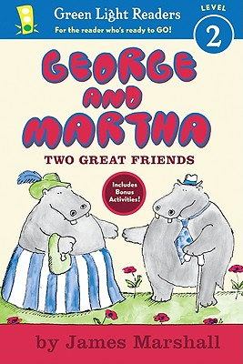 Image for George and Martha Two Great Friends Early Reader (Green Light Readers Level 2)