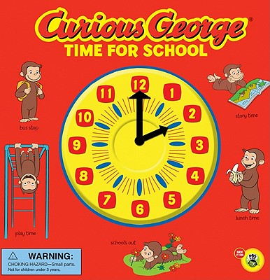 """Curious George Time for School (CGTV Novelty 8x8), """"Rey, H. A."""""""