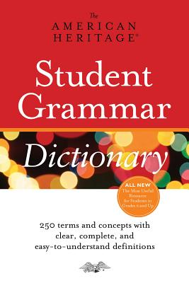 American Heritage Student Grammar Dictionary, American Heritage Dictionaries