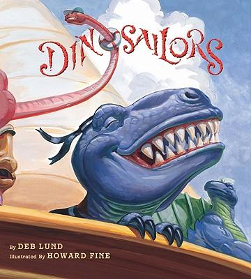 "Dinosailors board book, ""Lund, Deb"""